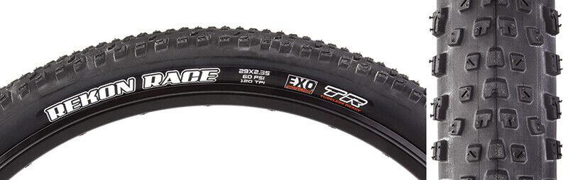MAXXIS Tires Max Rekon 29X2.6 Bk Fold//120 3Ct//Exo+//Tr