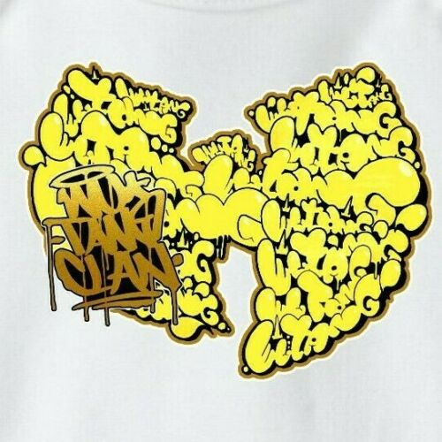 Onesie Wu Tang Clan W graffiti Baby shower, New Born, C.R.E.A.M., 36 Chambers