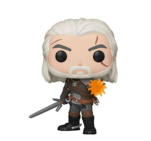 The Witcher III-Geralt Glow in the Dark Exclusive Funko Pop *** Pré-commande ***