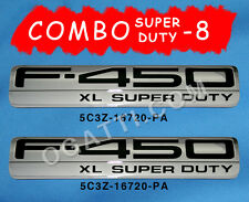 F-450 BRAND NEW OEM FORD F-450 XL SUPER DUTY EMBLEM COMBO 05-07 #5C3Z-16720-PA