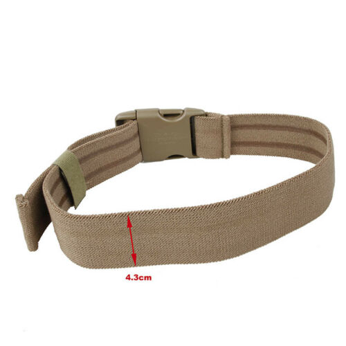 Tactical Military Thigh Strap Elastic Band Strap for Leg Thigh Holster CB