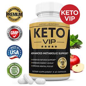 Keto VIP Keto Pills Boost Weight Loss Diet Pills BHB Ketogenic Supplement