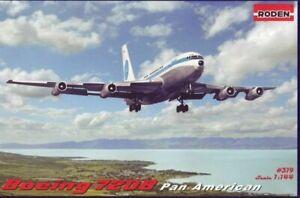 Roden-319-1-144-Boeing-720B-Pan-American-airplane-model-kit