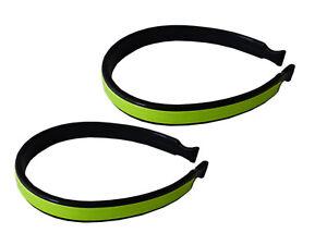 Set 2x Hosenklammern für das Fahrrad Hosenklemme Hosenspangen Hosenclips DRESCO
