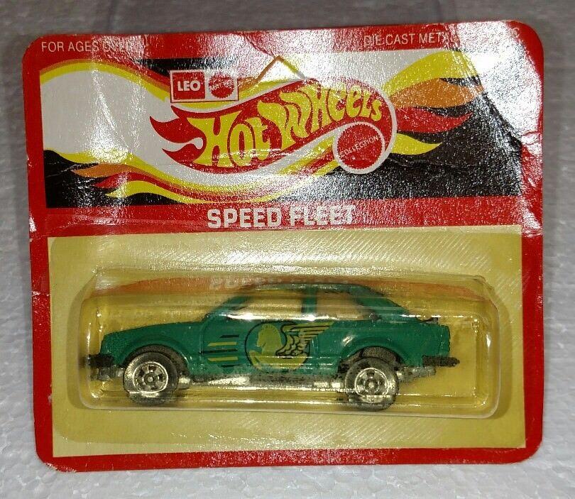 Hot wheels leo indien geschwindigkeit flotte ford escort grüne unpunched neu
