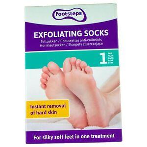 Anti-Hornhaut-Socken-Hornhautentferner-Peeling-Fusspflege-Hornhautsocken-Schrunde