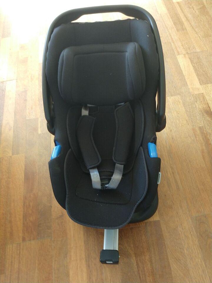 Autostol, op til 9 kg , andet mærke Baby autostol. Med isofix