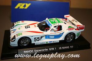 Slot-car-SCX-Scalextric-Fly-A64-Panoz-Esperante-GTR-1-Le-Mans-97