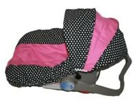 Girls Infant Car Seat Cover-for Graco Evenflo-sadie