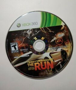Need for Speed: The Run Limited Edition (Microsoft Xbox 360, 2011) Disc Only
