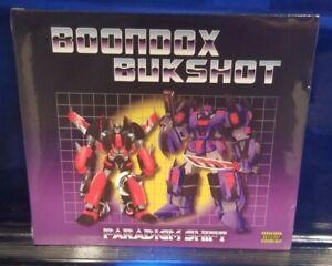 Boondox / Bukshot - Paradigm Shift CD SEALED lyte horrorcore axe murder boyz mne