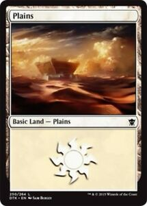 20x Plains Basic Land MP to NM
