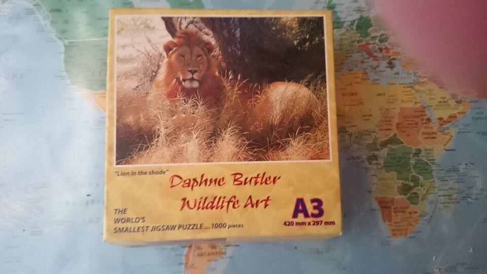 Puslespil, Mini puzzle, Daphne Butler