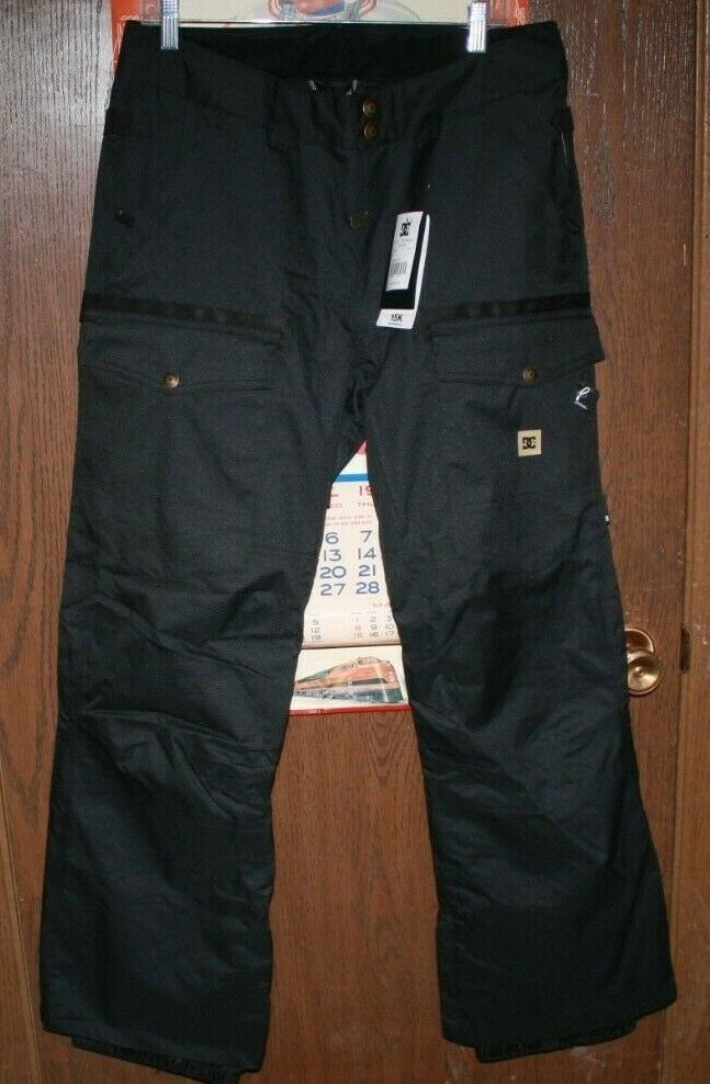 NWT DC 15K WATERPROOF SKIING SNOWBOARD  PANTS ADULT X-LARGE FREE SHIPPING  best-selling