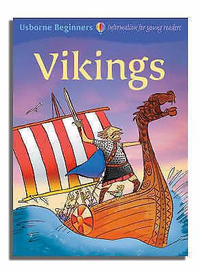 """AS NEW"" Turnbull, Stephanie, Vikings Beginners, Hardcover Book"