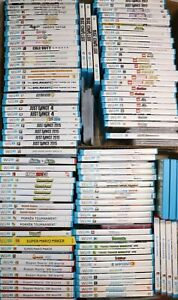 NINTENDO WII U GAME LOT YOU PICK CHOOSE BUY 3 GET 1 50% OFF GAMES PLAY TESTED