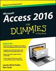 Access 2016 For Dummies von Ken Cook und Laurie Ulrich-Fuller (2015, Taschenbuch)