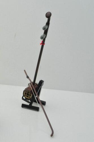 1//6 FIGURE Wood erhu model 15cm Delicate box Musical Instruments