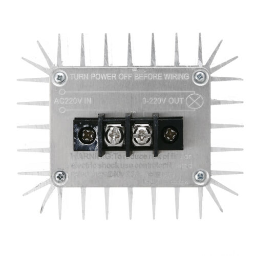 5000W 220V AC SCR Regulador De Voltaje Atenuador Termostato Motor Speed Control Ventilador