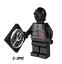 LEGO-Star-Wars-Minifigures-Han-Solo-Obi-Wan-Darth-Vader-Luke-Yoda-Fox-Rex-R2D2 thumbnail 32
