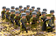 miniature 4 - 21pcs WW2 Minifigures Army Soldiers British Russia Japan US Military