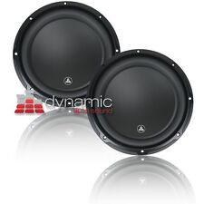 "2 JL AUDIO 12W3v3 Car Stereo Subwoofers 12"" SVC 2-Ohm 1,000W Subs 12W3 v3 New"