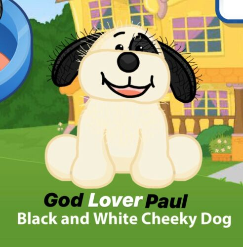 unused code only CREDIBLE SELLER FAST Webkinz Black And White Cheeky Dog