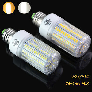 e14 e27 lights 5730 smd led corn bulb lamp 220v light incandescent 20w 150w ebay. Black Bedroom Furniture Sets. Home Design Ideas