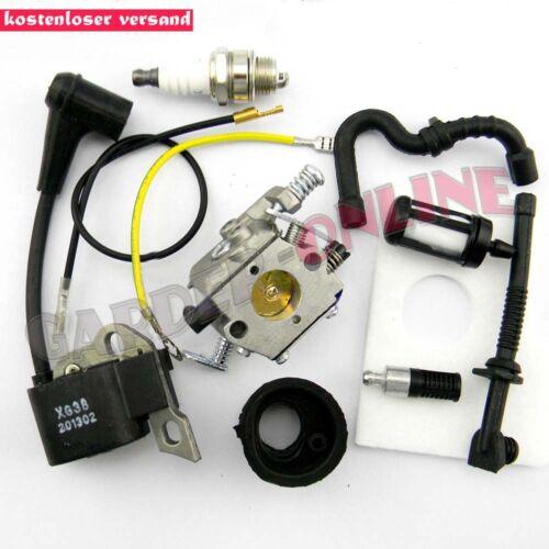 Vergaser Zündspule Zündkerze Luftfilter für STIHL Kettensäge 017 018 MS170 MS180