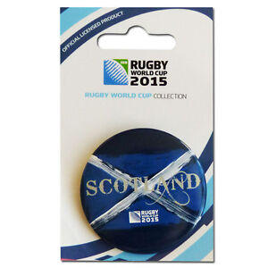 Rugby World Cup 2015 Scotland Button Badge