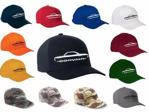 1965-69 Corvair Classic Color Outline Design Hat Cap NEW