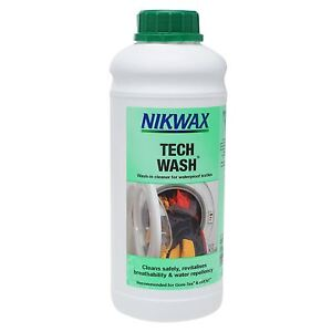 Nikwax tech wash non detergent cleaner for outdoor for Best detergent for dress shirts