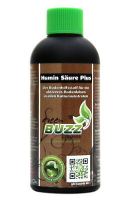 Humin Säure Plus Green Buzz Liquids GBL 100 mL Bodenverbesserer Grow