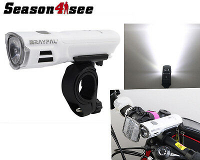 RAYPAL 2225 CREE 3W LED 60 Lumens AAA Bicycle Bike Front Safety Light & Mount