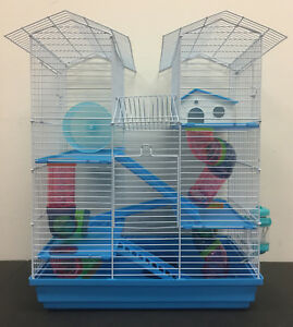 5-Level-Large-Twin-Tower-Hamster-Habitat-Rodent-Gerbil-Mouse-Mice-Rats-Cage-368