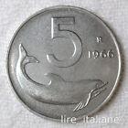 5 LIRE Delfino 1966 1967 1968 1969 1970 *FDC*