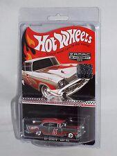 Hot Wheels Factory Set Wal-Mart ZAMAC Promo #5 '57 Chevy Bel Air w/ Real Riders