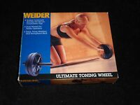 Weider Ultimate Toning Wheel - In Box