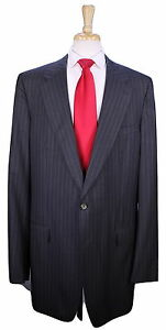 Gucci-Custom-Made-for-Kobe-Bryant-Gray-Pinstripe-2-Btn-Wool-Suit-48XL