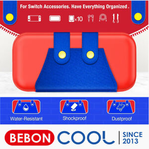 Case Bag For Nintendo Switch/Switch Lite Carrying Case +Tempered Glass Protector
