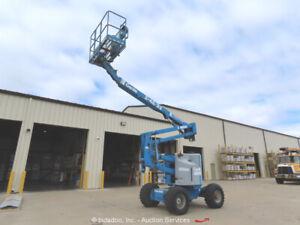 Genie Z-45/22 45' 4WD Articulating Boom Lift Man Aerial Platform bidadoo