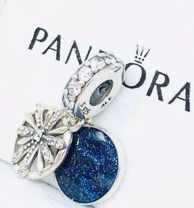 7362bb2ca Image is loading Pandora-Genuine-Silver-Dazzling-Wishes-Dangle-Charm -797531CZ