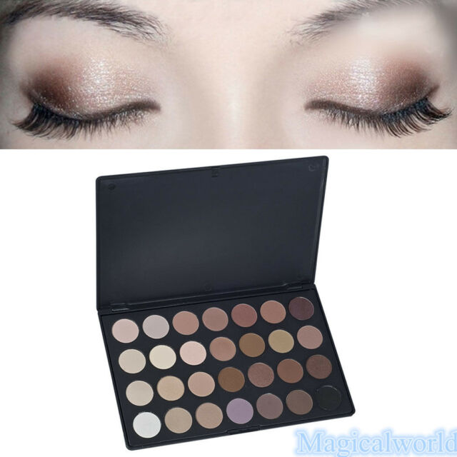 Pro 28 Colors Eye Shadow Cosmetic Makeup Shimmer Matte Eyeshadow Palette Set