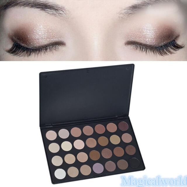 Pro 28 Colors Eye Shadow Cosmetic Makeup Shimmer Matte Eyeshadow Palette Set