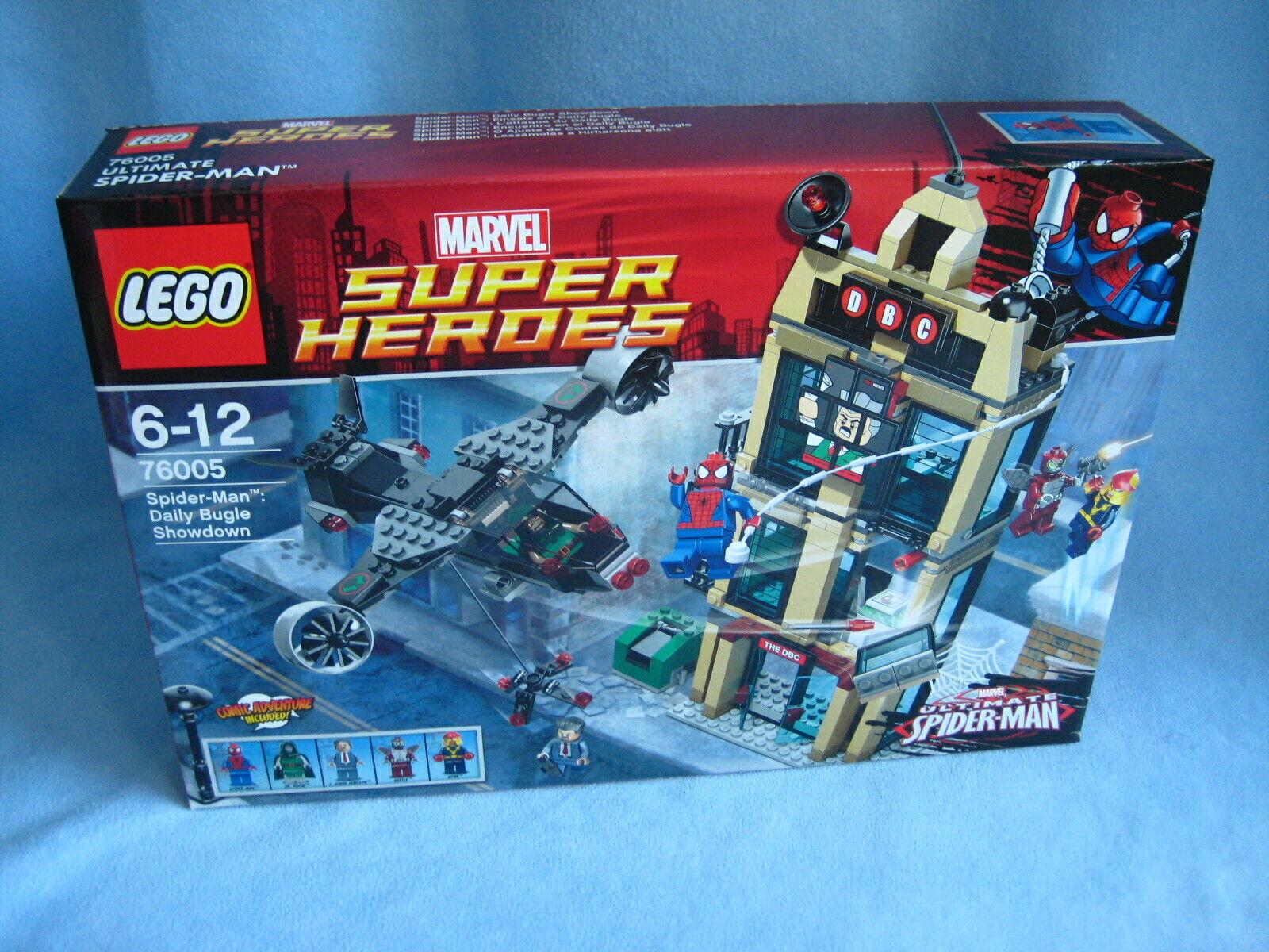 Lego Marvel Marvel Marvel Super Heroes 76005 Spider-Man Spiderman Daily Bugle Showdown Neu Ovp f522d0