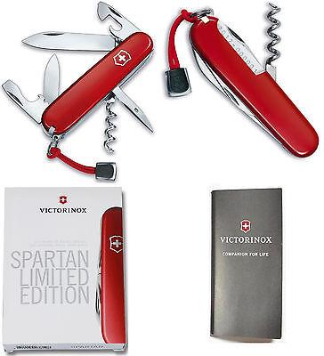 Victorinox Swiss Army 115th Anniversary Limited Editin Spartan Red 1.3603.L12.20