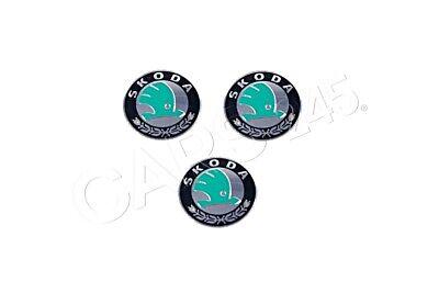 Genuine SKODA Emblem 5E0837891