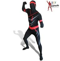 Adult Officially Licensed Morphsuit Ninja Fancy Dress Bodysuit
