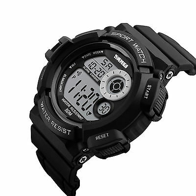 Men Army S SHOCK Sport Quartz Wrist Day Date Digital Watch Waterproof Military