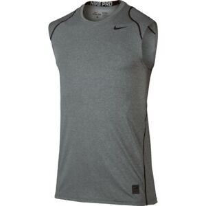 36abfdada NWT Nike Men's Dri-Fit Pro Cool Fitted Sleeveless Tee Size XL 2XL ...